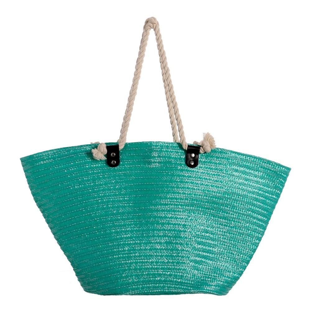 Tyrkysová letná kabelka cez rameno Unimasa City 08d6d4082e8