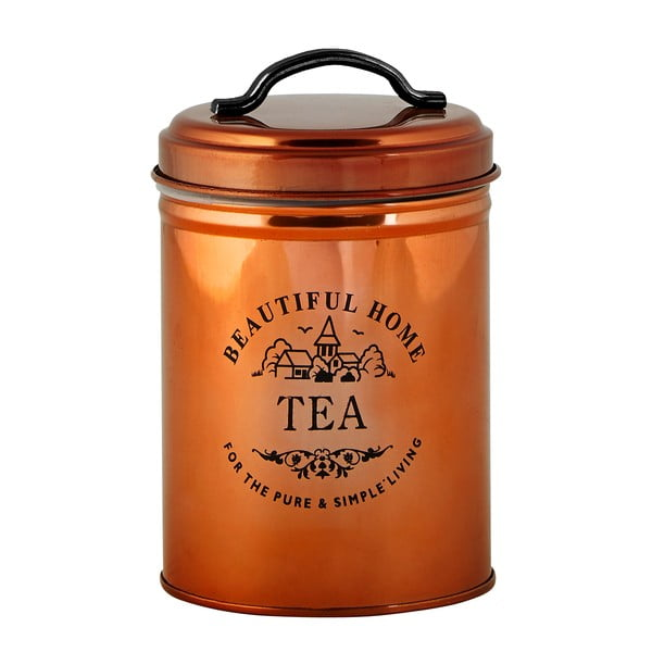 Medená dóza na čaj