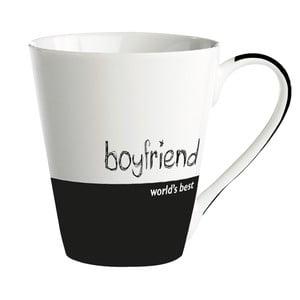 """Porcelánový hrnček """"World's best boyfriend"""""""