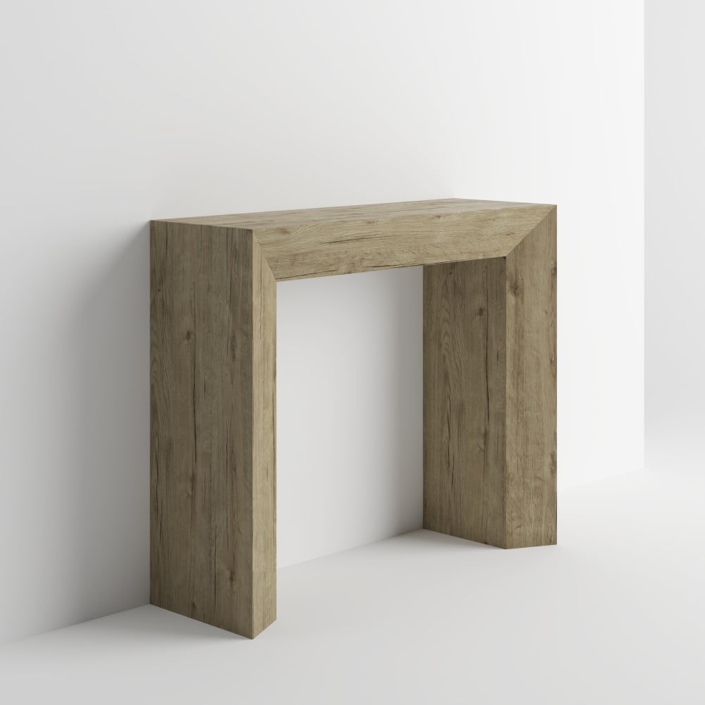 Konzolový stolík v dekore duba sherwood MobiliFiver Giuditta