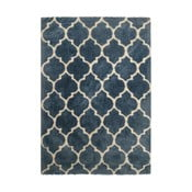Modrý koberec Smooth, 160x230cm
