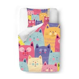 Obliečky Butter Kings Cats in Colours, 140x200 cm