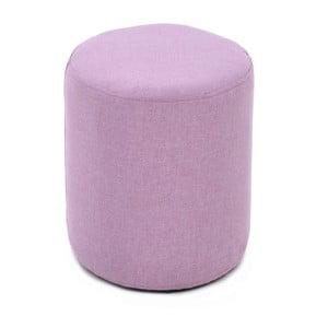 Látková taburetka Candy Pink