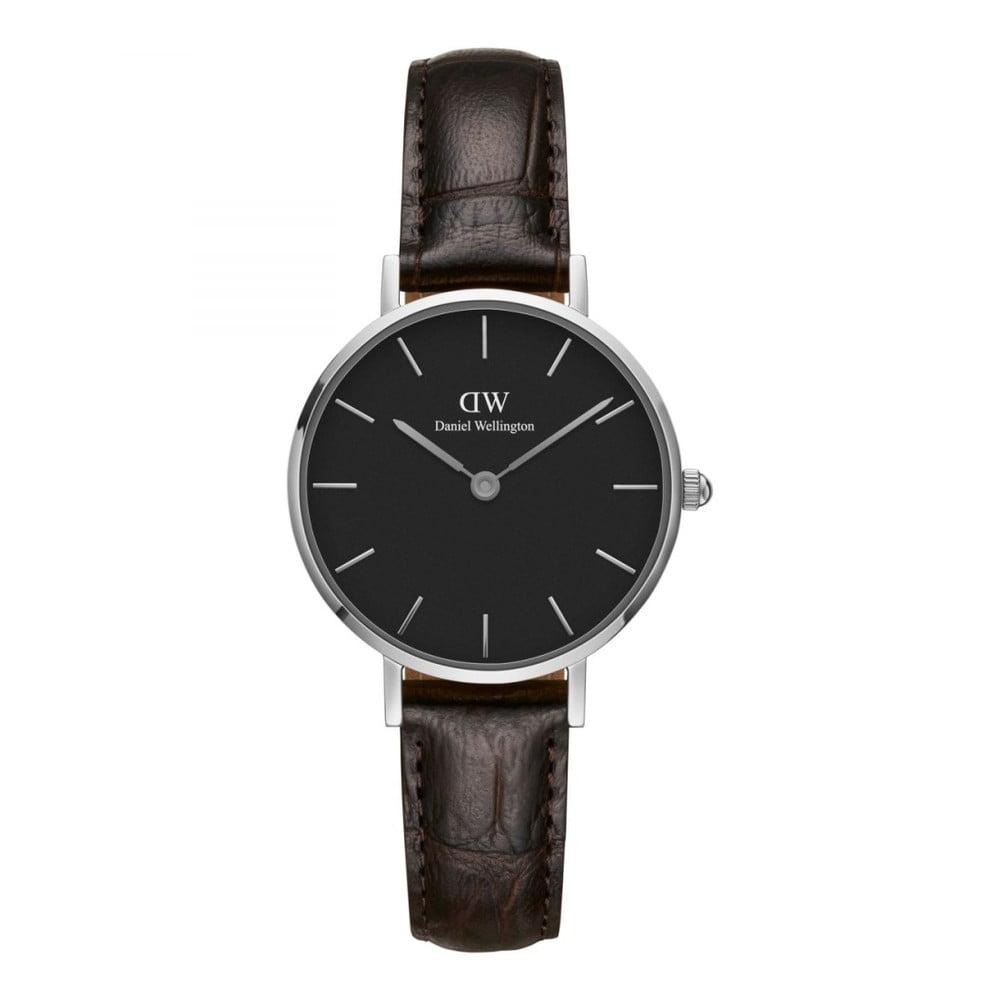 Dámske hodinky s koženým remienkom Daniel Wellington Petite York, ⌀ 28 mm