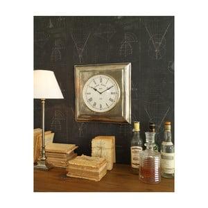 Nástenné hodiny Orchidea Milano Old Metal, 40 x 40 cm