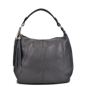 Čierna kožená kabelka Sofia Cardoni Bruhna