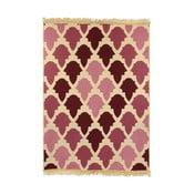 Červený koberec Ya Rugs Baklava Claret, 80×150cm