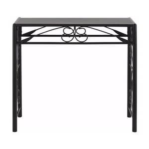 Čierny konzolový stolík Støraa Isabelle
