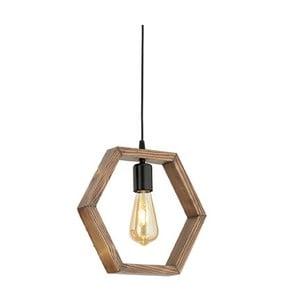 Závesné svietidlo z hrabového dreva Geometrik Sparky
