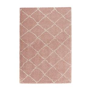 Ružový koberec Mint Rugs Allure Ronno Rose Creme, 120 x 170 cm