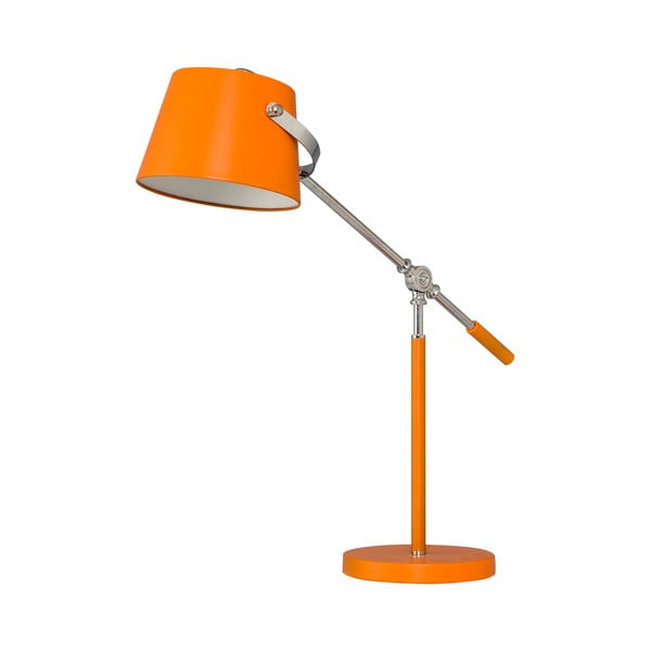 Stolná lampa Xavier, oranžová