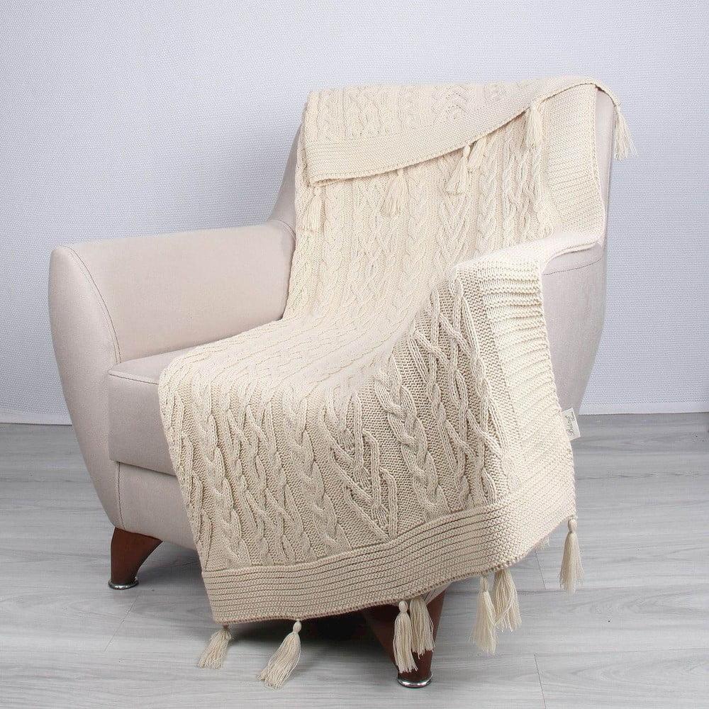 Prírodná deka Tutu, 170 × 130 cm