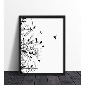 Zarámovaný plagát We Love Home Primavera, 30 x 40 cm