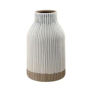 Sivá kameninová váza Ladelle Nori