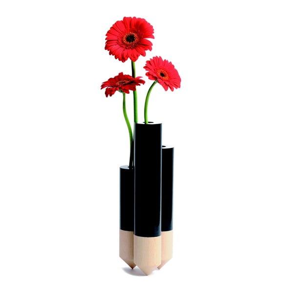 Váza Pik Black
