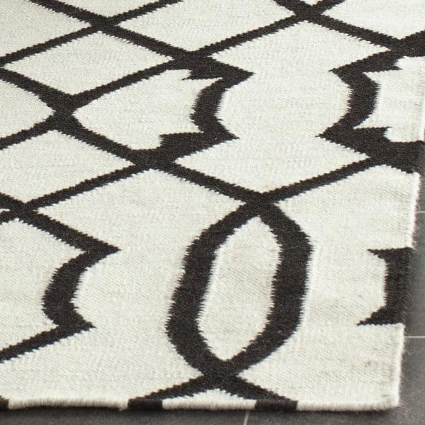 Vlnený ručne tkaný koberec Safavieh Margo, 91x152cm