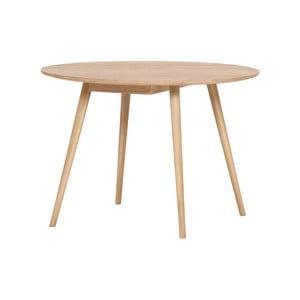Svetlohnedý jedálenský stôl WOOD AND VISION Round, ⌀ 105 cm