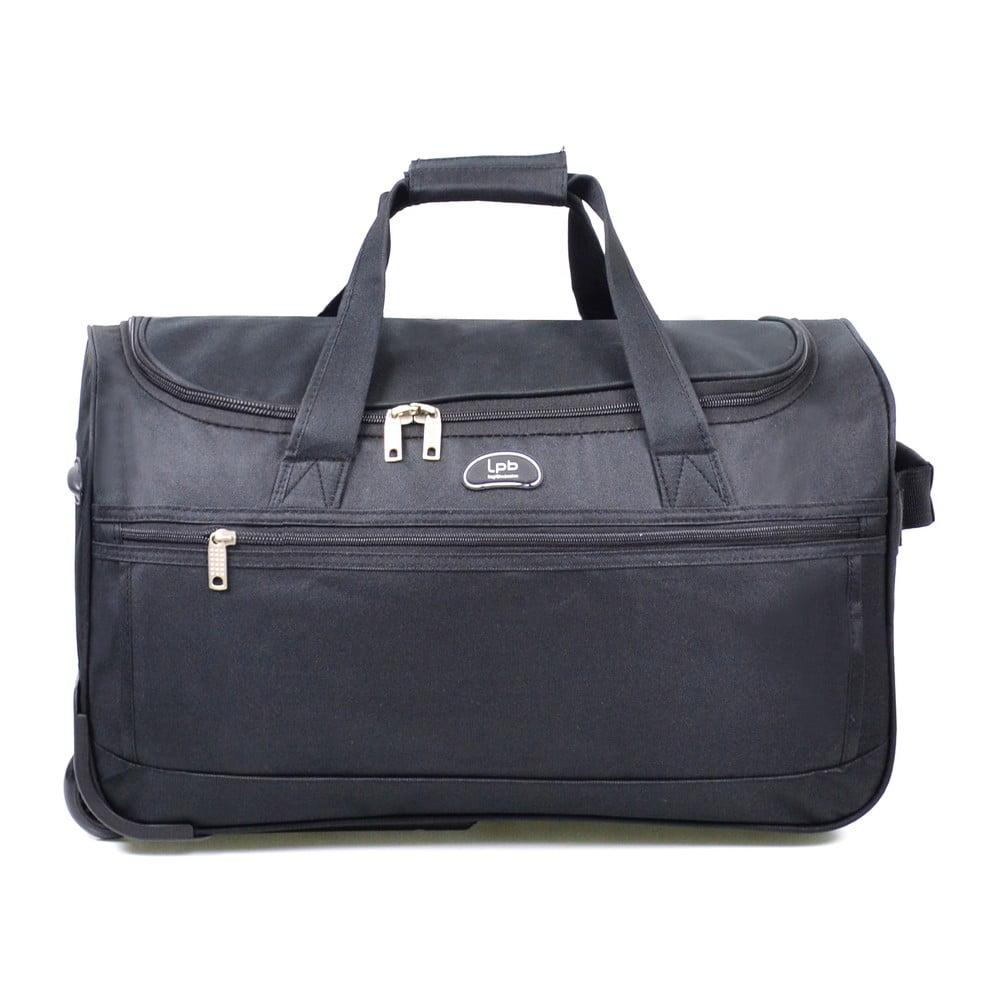 Čierna cestovná taška na kolieskach LPB Morgane, 43 l