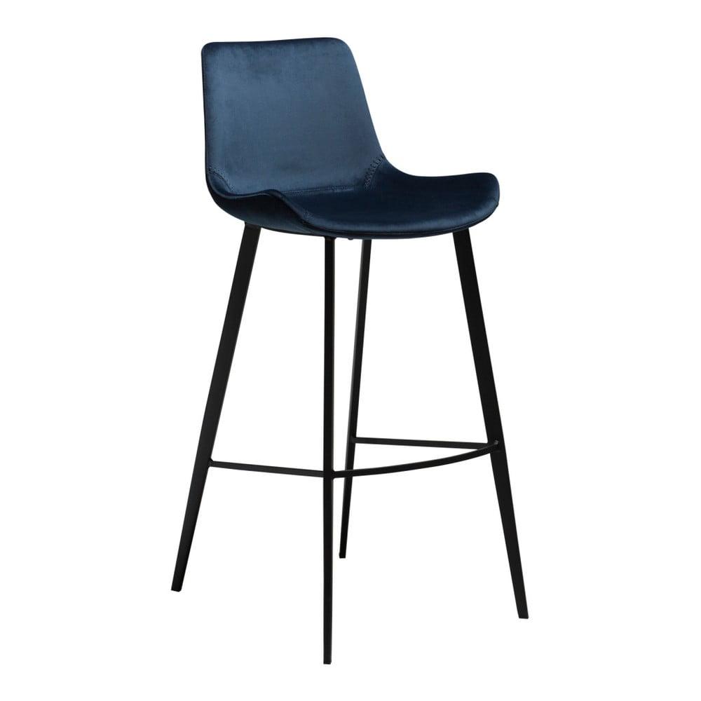 Tmavomodrá barová stolička DAN-FORM Denmark Hype