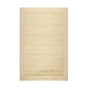 Vlnený koberec Dama 610 Crema, 60x120 cm