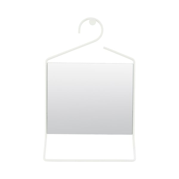 Závesné zrkadlo Hang, biele