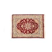 Ručne viazaný koberec Kashmirian, 89x63 cm