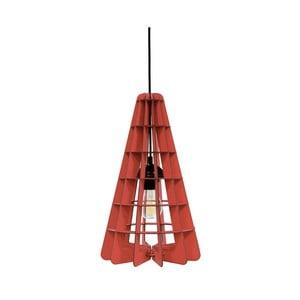 Svietidlo Conic, červené