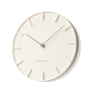 Krémové nástenné hodiny Mister Tacche