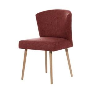 Tehlovočervená jedálenská stolička My Pop Design Richter