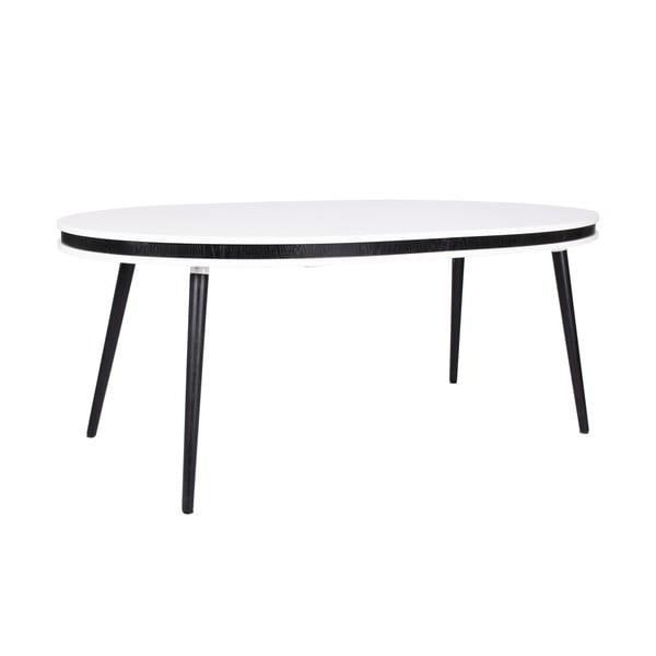 Čierny rozkladací jedálenský stôl RGE Hugo