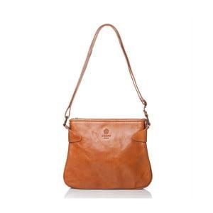 Medovohnedá dámska kabelka taška z teľacej kože Medici of Florence Brigida
