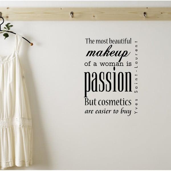 Dekoratívna nástenná samolepka Passion
