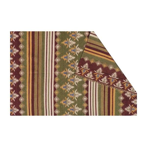 Vlnený koberec Kilim no. 716, 155x240cm