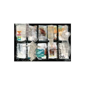 Obraz na plátne Paper Composition 80x120 cm