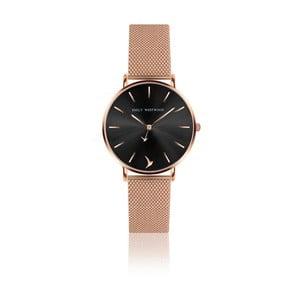 Dámske hodinky s remienkom z antikoro ocele v ružovozlatej farbe Emily Westwood Claire