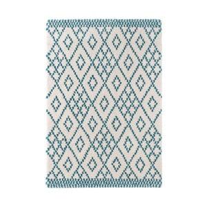 Modrý koberec Mint Rugs Ornament, 80 x 150 cm