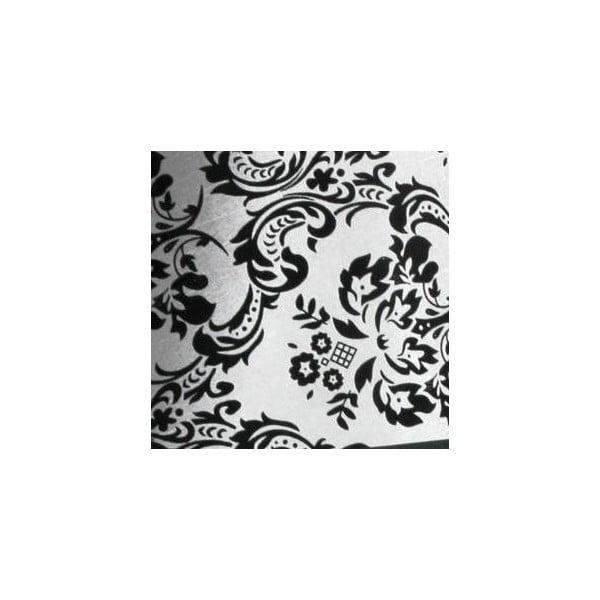 Sivé stropné svietidlo Ornamentico