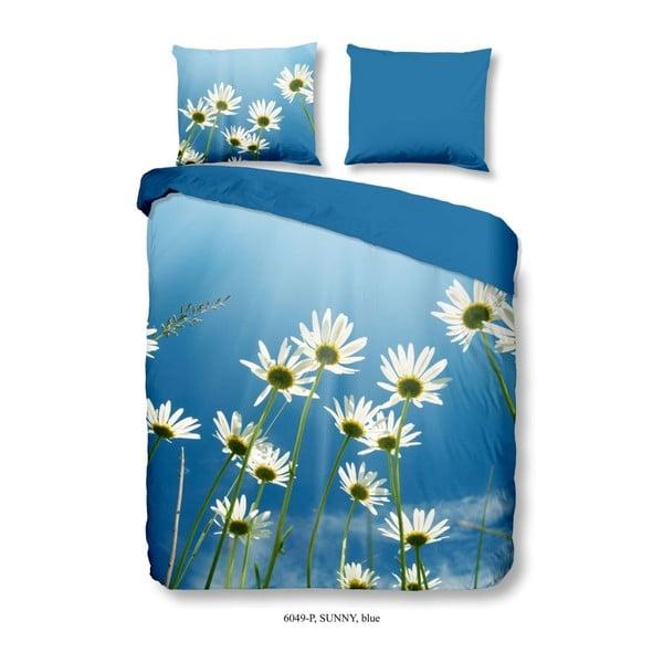 Obliečky na jednolôžko z bavlny Muller Textiels Good Morning Sunny, 140 × 200 cm