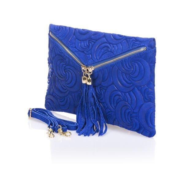 Modrá listová kabelka Lisa Minardi Silvia