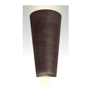 Nástenné keramické svetlo Tuba, wenge