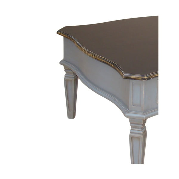 Konferenčný stolík Belgique Grey, 80x80 cm