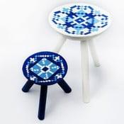 Sada 2 ručne maľovaných stoličiek Vistea