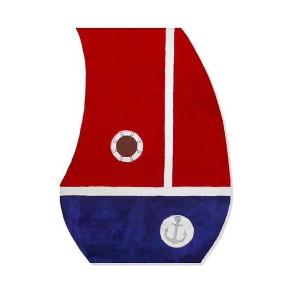 Detský koberec Mavis Red Sail, 120x180 cm