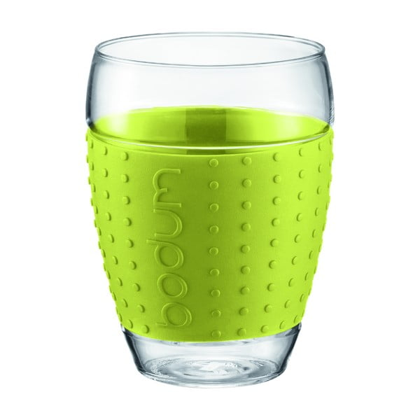 Sada 2 pohárov Pavina Big, zelený pásik