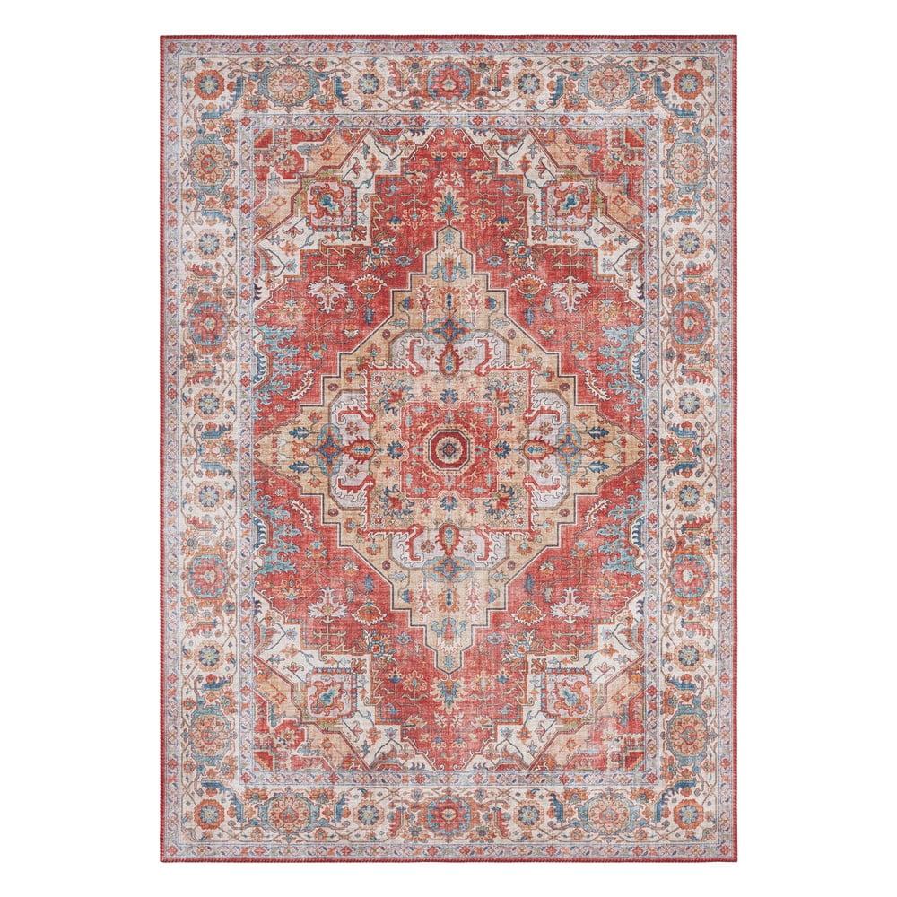 Tehlovočervený koberec Nouristan Sylla, 120 x 160 cm