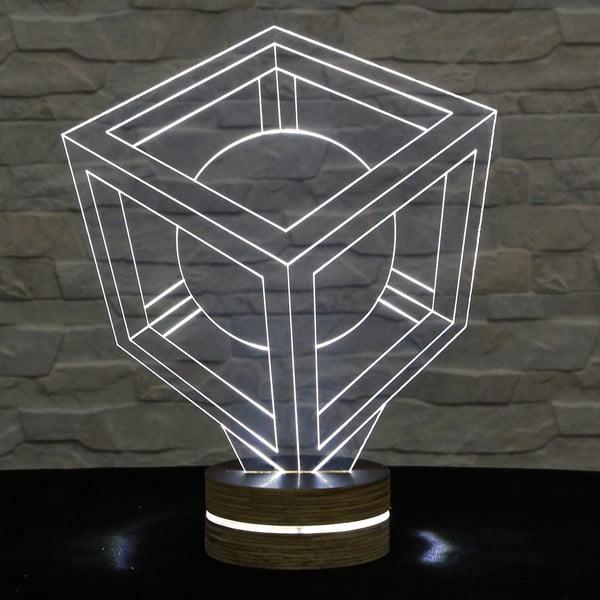 3D stolová lampa In the box