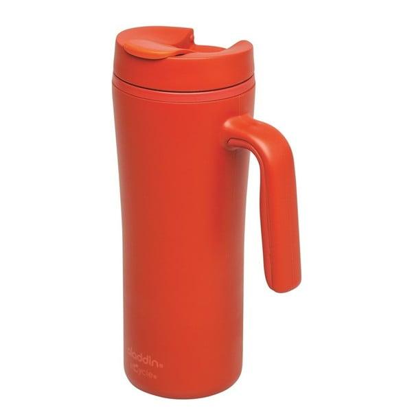 Červený termohrnček s uchom Aladdin Flip-Seal ™, 350ml