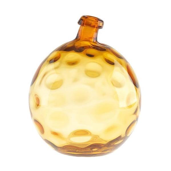 Sklenená váza Inart Amber