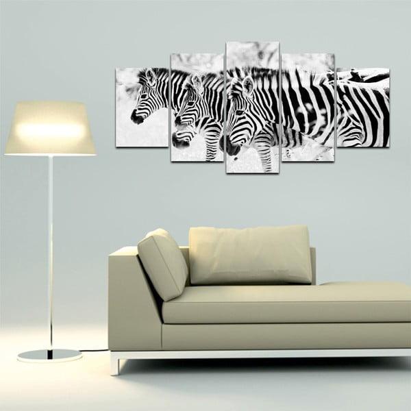 Viacdielny obraz Black&White no. 73, 100x50 cm