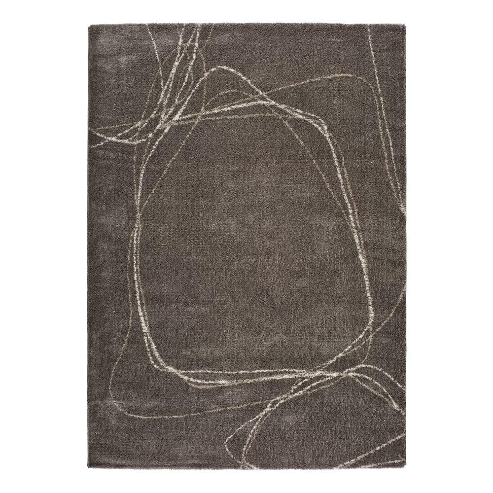 Sivý koberec Universal Moana Treo, 120 x 170 cm